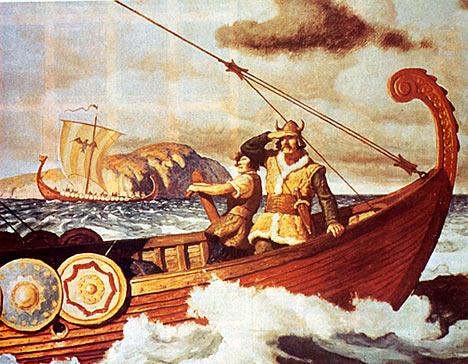 Os Vikings não resistiram à era glacial, sendo expulsos pelos esquimós