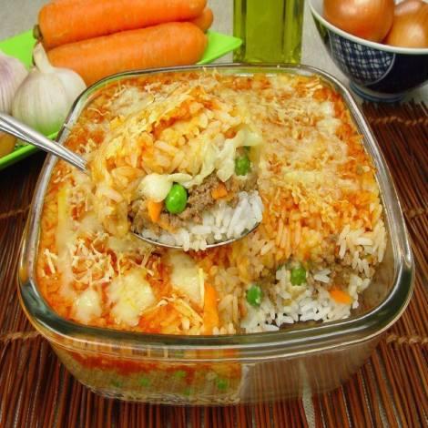 arroz-de-forno-com-carne-moida-a-parmegiana